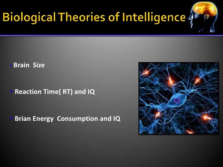 the theories on intelligence Part ten how do we differ chapter 51 contemporary theories of intelligence james c kaufman, scott barry kaufman, and jonathan a plucker abstract.