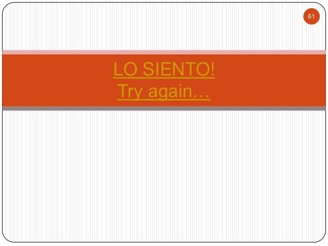 Wk 6 Spanish I Regular Present Tense Verb Conjugation
