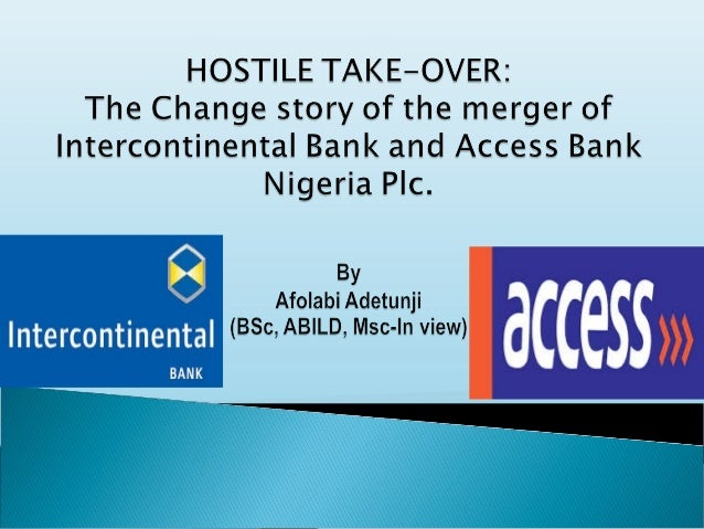 the effects of merger on bank performance in nigeria The nigeria business climate has been adjustment by expect as one of the  of  the study to investigate the effect merger and acquisition on the performance.