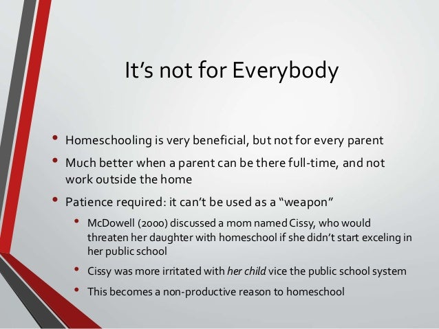 an analysis of home schooling and public school system Data analysis & research educator regular reports should be submitted to the person in charge of home schooling in your district each school committee has authority to decide whether or not to allow a home-schooled child to participate in public school programs and public.