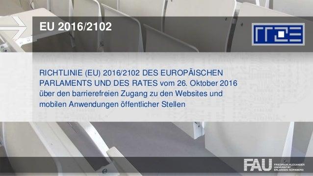 WKE2018: Leitfaden Digitale Barrierefreiheit Slide 2
