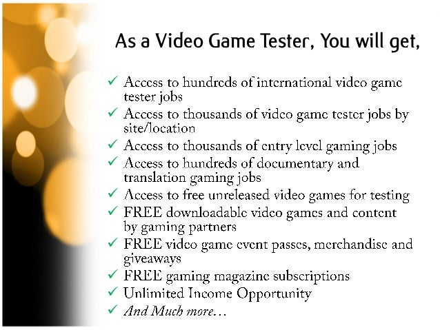 Video Game Tester Jobs At Home: Get Paid For Playing New Games