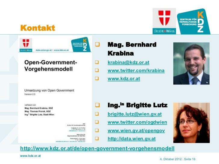 Kontakt                              Mag. Bernhard                               Krabina                              kr...