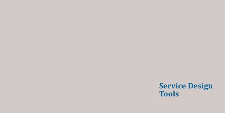 Service DesignTools
