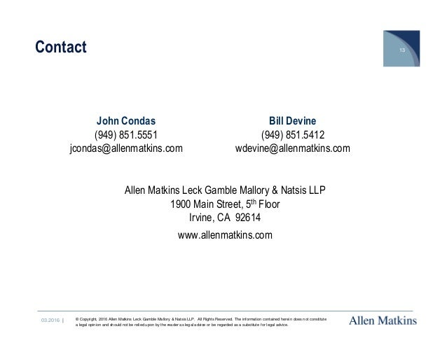 1900 Main Street 5th Floor Irvine Ca 92614 Offices Allen
