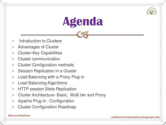 Introduction to Clusters  Advantages of Cluster  Cluster-Key Capabilities  Cluster communication  Cluster Configurat...