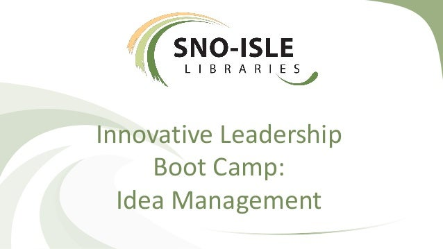 Management and leadership camp
