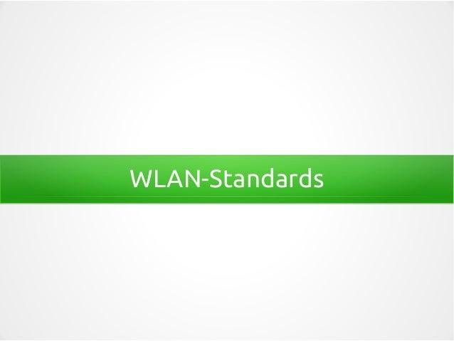 WLAN-Standards