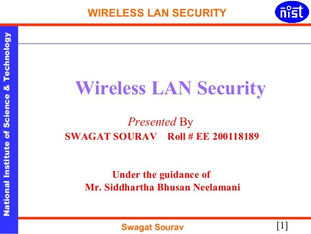 WLAN security: Best practices for wireless network security
