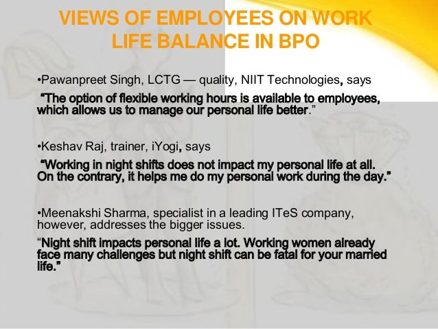 Challenges faced by women bpo