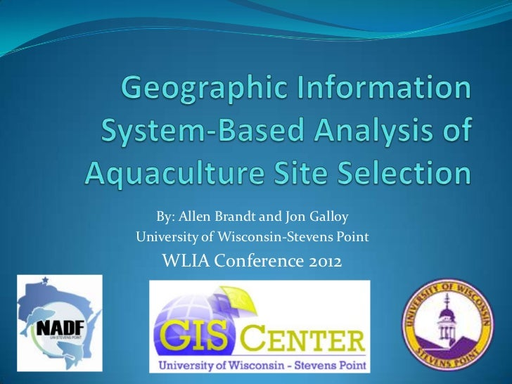 By: Allen Brandt and Jon GalloyUniversity of Wisconsin-Stevens Point    WLIA Conference 2012