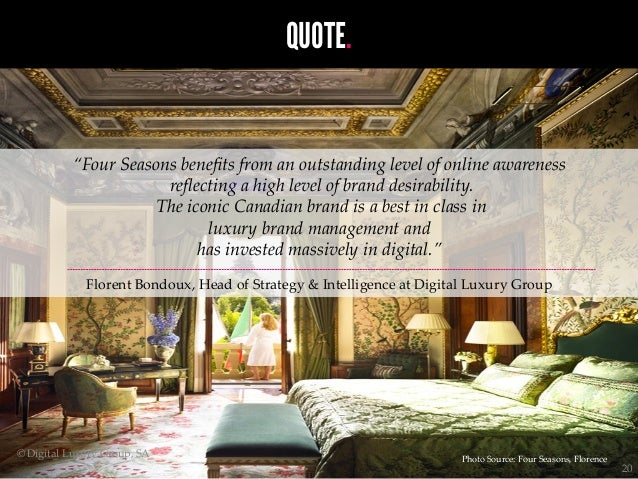 World luxury index hotels the most sought after luxury for Hotel luxury quotes