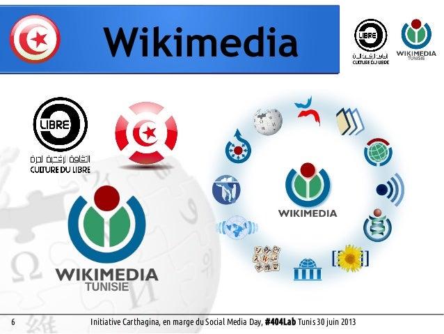 5 Wikiemedia Social Media Day, #404Lab Tunis 30 juin 2013