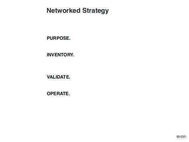 Working Like  a Network