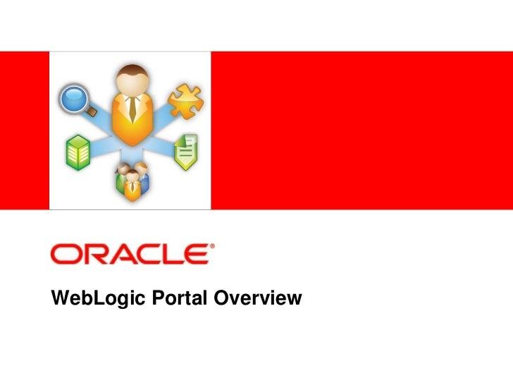 WebLogic Portal Overview<br />