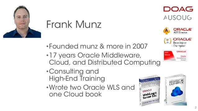 Oracle Java Cloud Service JCS (and WebLogic 12c) - What you Should Know Slide 2