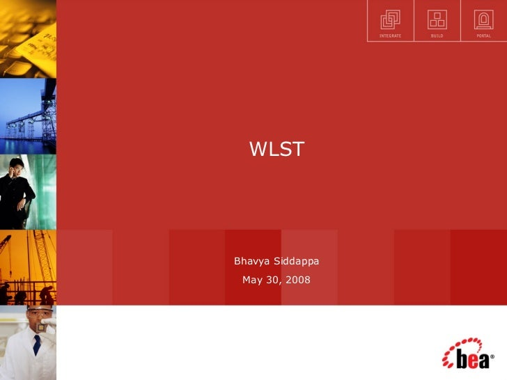 WLST Bhavya Siddappa May 30, 2008