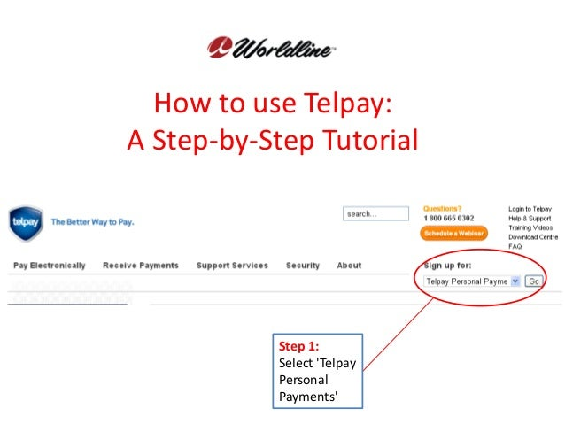 How to use Telpay:A Step-by-Step Tutorial           Step 1:           Select Telpay           Personal           Payments