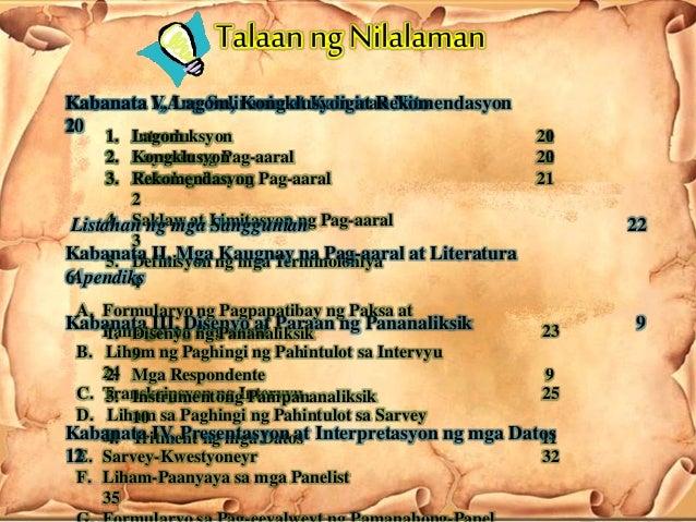 mga pananaliksik Pagbasa at pagsulat tungo sa pananaliksik has 609 ratings and 59 reviews: published 2008 by gmk publishing house, 362 pages, paperback.