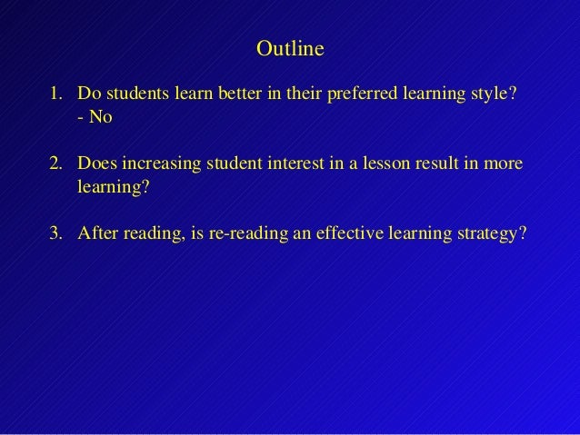 Ten Common Learning Myths That Might Be >> Cracking Common Learning Myths