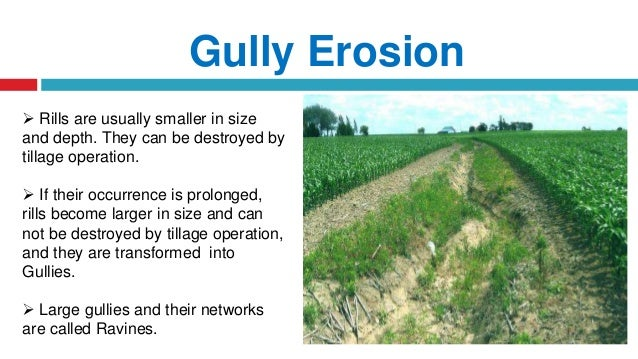 Watershed Principles Of Erosion