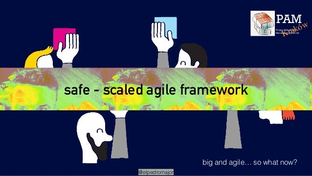 safe - scaled agile framework big and agile… so what now? @elpedromajor PAM Project & Analysis Management Summit Kraków