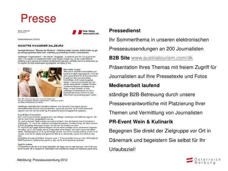 Presse                                   Pressedienst                                   Ihr Sommerthema in unseren elektro...