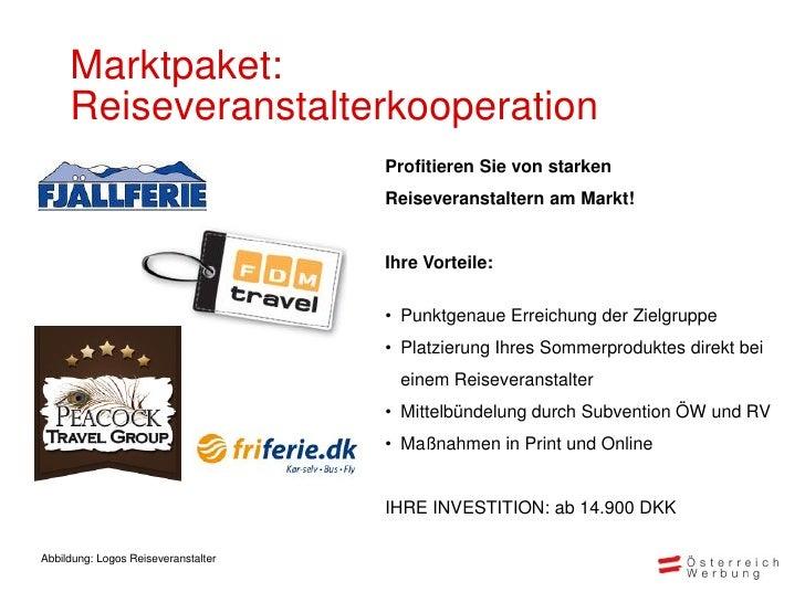 Marktpaket:     Reiseveranstalterkooperation                                     Profitieren Sie von starken              ...