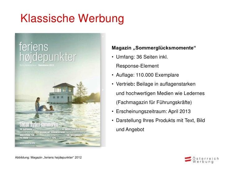 """Klassische Werbung                                                 Magazin """"Sommerglücksmomente""""                          ..."""