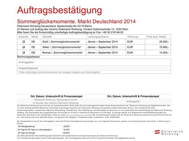 Iris Wermescher iris.wermescher@austria.info +49 30 219148-13 +49 30 219148-50 Österreich Werbung Deutschland GmbH Kloster...