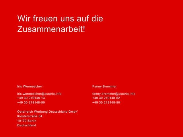 ÖW Marketingkampagne Sommer 2014 Deutschland
