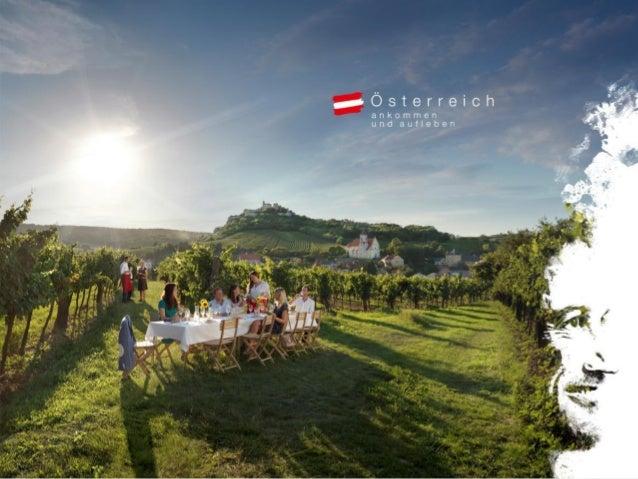 Sommerglücksmomente. Ankommen und aufleben. Die weltweite Marketingkampagne der Österreich Werbung in der Schweiz 2014 Eva...