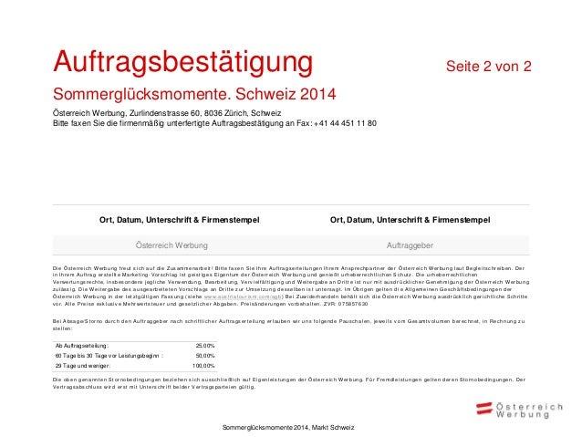 Wir freuen uns auf die Zusammenarbeit!  Eva Wallimann  Vorname Nachname  eva.wallimann@austria.info Tel: 0041 44 457 10 50...