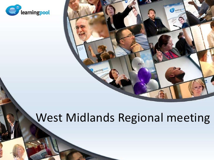 West Midlands Regional meeting<br />