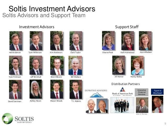 Soltis Investment Advisors Salt Lake City