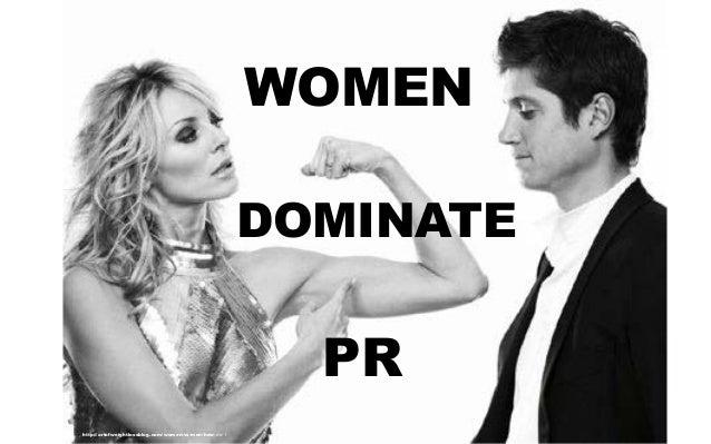 Women who like to dominate men