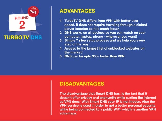 what is the difference between smart dns proxy vs vpn service