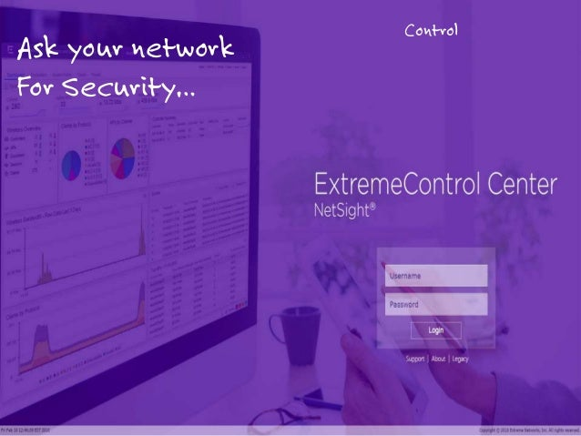 1 Control Ask your network For Security…