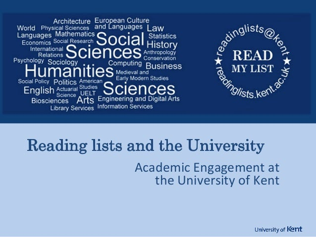 Academic  Engagement  at   the  University  of  Kent