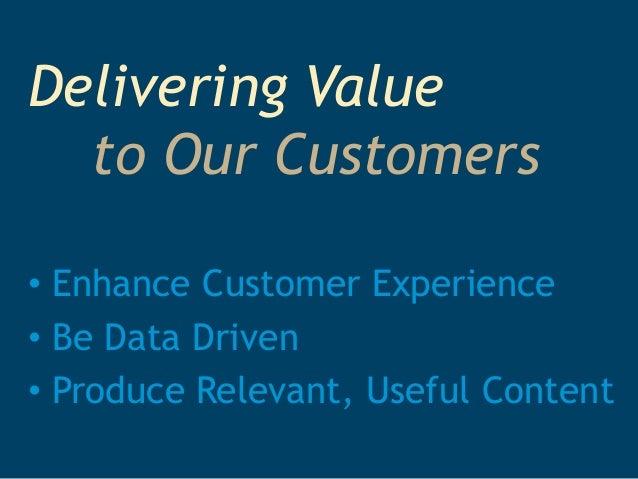 delivering value International business research vol 3, no 2 april 2010 131 delivering customer value based on service process.