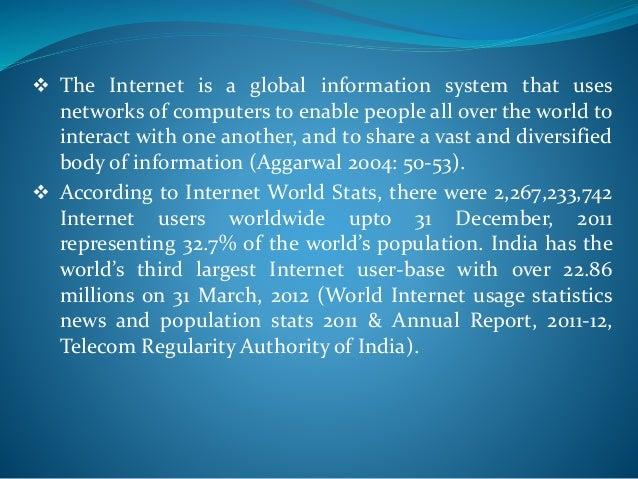 positive impact of internet