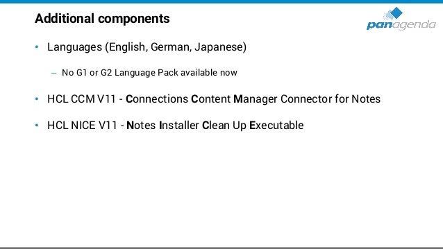 HCL Notes Installation Folders • Program directory C:Program Files(x86)HCLNotes • Shared data directory C:ProgramDataHCLNo...