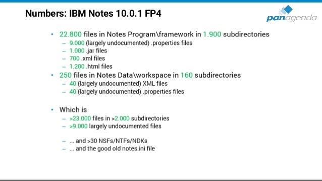Numbers: IBM Notes 11.0