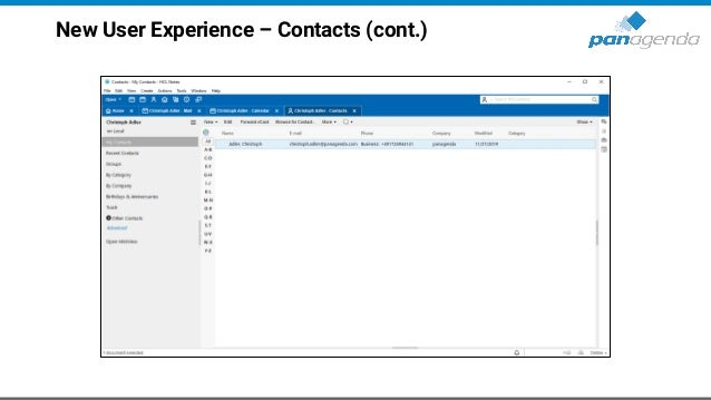 HCL Notes V11 – Customize colors • If blue is not your favorite color, you can choose/manage it with a notes.ini parameter...