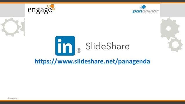 https://www.slideshare.net/panagenda #engageug