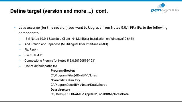 Choose Upgrade/Deployment Tool – Third-Party-Solutions • Third-Party-Solution for Notes → Today: Marvel Client Upgrade Fre...
