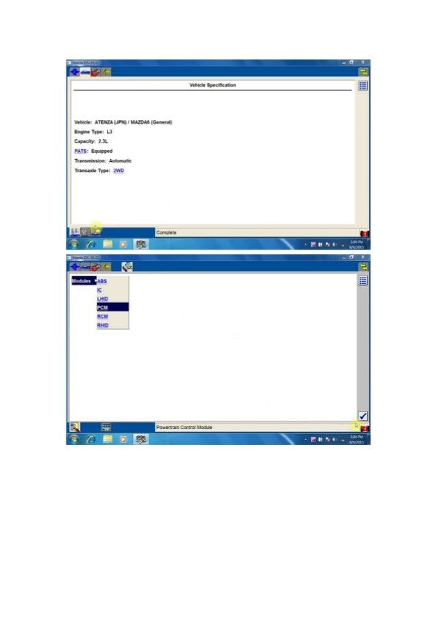 Wobd2 mazda ids v95 for vxdiag vcx nano free download