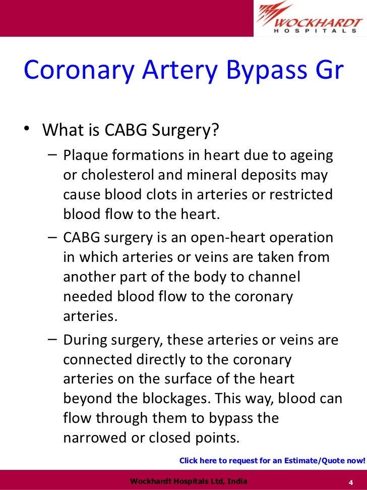 coronary artery bypass procedure steps