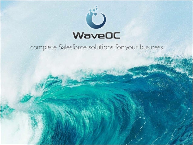 complete Salesforce solutions for your business