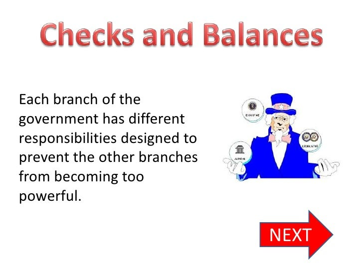 checks and balances in government The government publishing office provides a primer on the three branches and the system of checks and balances this diagram offers a helpful illustration, and the crash course video above.
